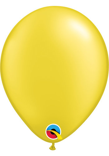 Heliumballon Geel Metallic (28cm)