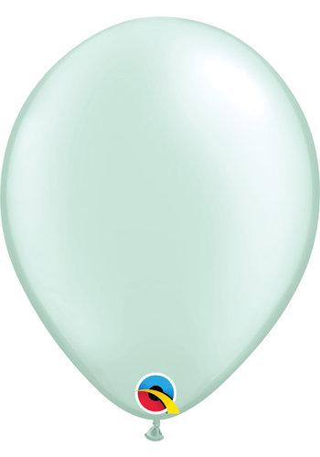 Heliumballon Mint Groen Metallic (28cm)