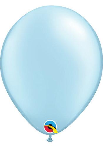 Heliumballon Licht Blauw Metallic (28cm)