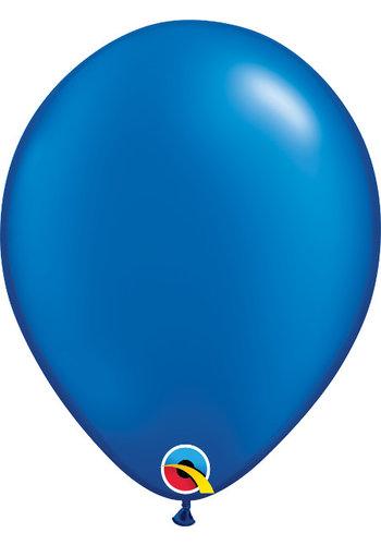 Heliumballon Donker Blauw Metallic (28cm)