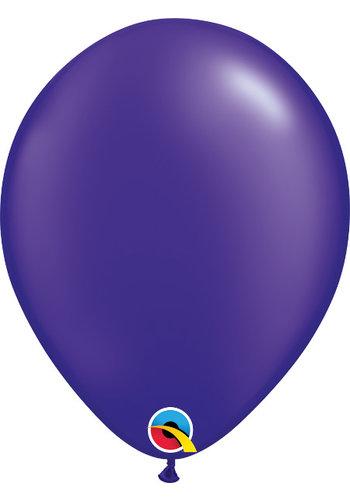 Heliumballon Paars Metallic (28cm)