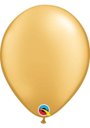 Heliumballon Goud Metallic (28cm)