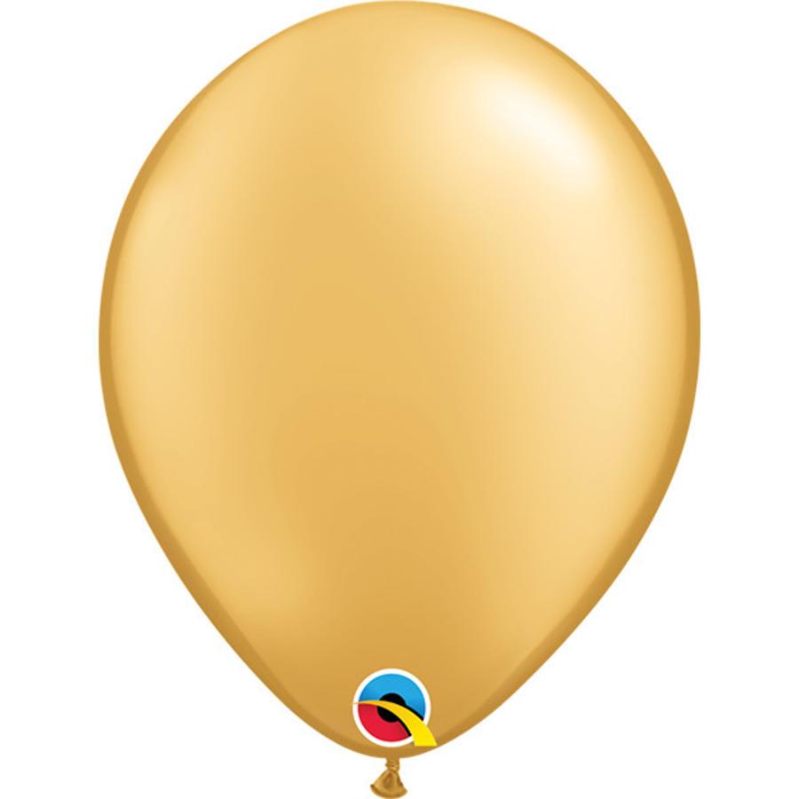 Helium Ballon Goud Metallic (28cm)-1