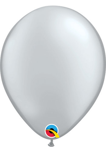 Heliumballon Zilver Metallic (28cm)