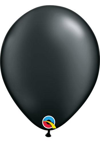 Heliumballon Zwart Metallic (28cm)