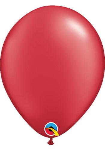 Heliumballon Rood Metallic (40cm)