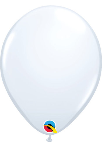 Heliumballon Wit Standaard (40cm)