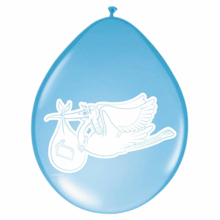 Baby Boy Ballonnen 30cm - 8 stuks-1