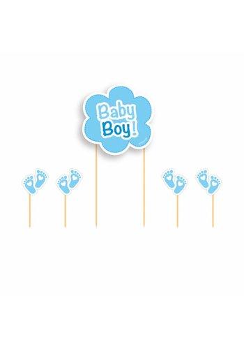 Cake Topper Baby Boy