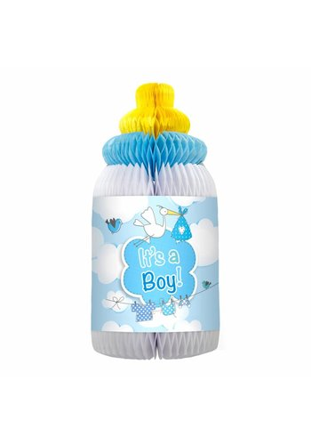 It's a Boy Baby Fles honeycomb