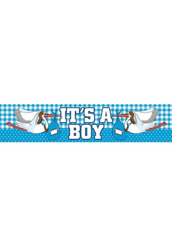It's a Boy banner - 160x19cm