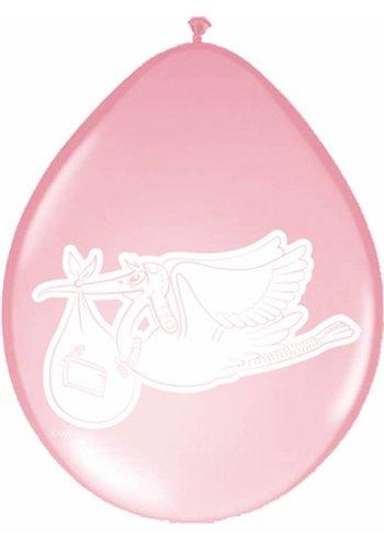 Baby Girl Ballonnen 30cm - 8 stuks
