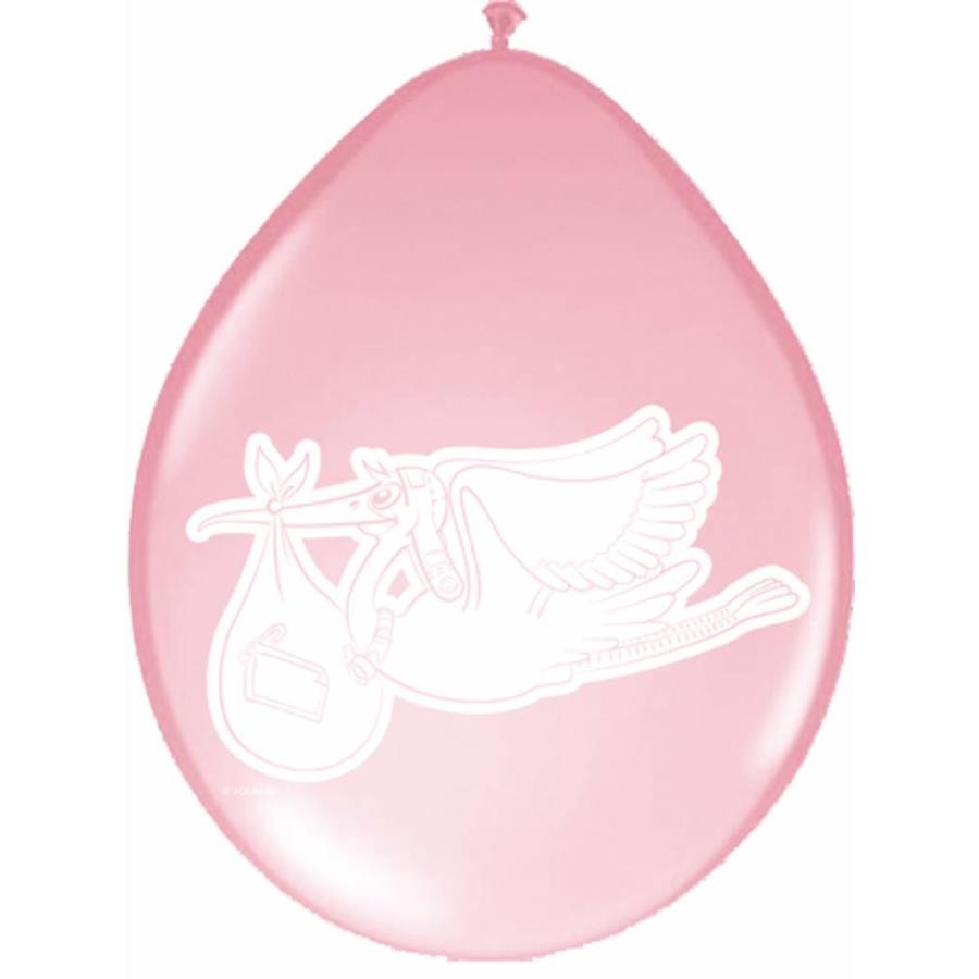 Baby Girl Ballonnen 30cm - 8 stuks-1