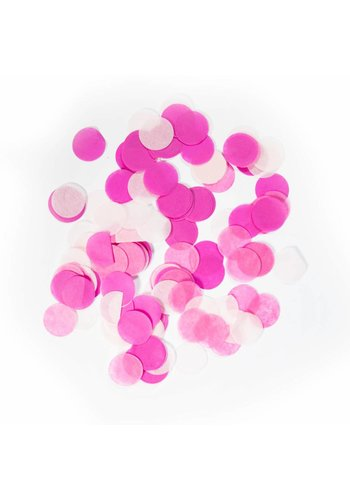 Confetti XL Licht Roze 25mm - 14 gram