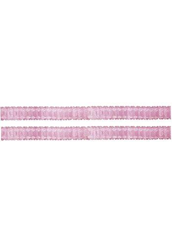 Mini slinger Licht Roze - 2 x 2,5 meter