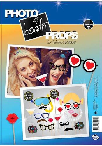 Photo Booth Props - Bachelor - 20 stuks