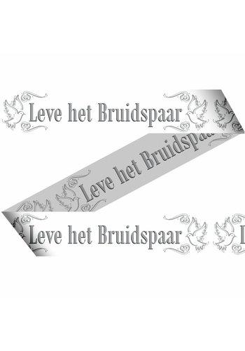 Love Doves Markeerlint Leve het bruidspaar - 15 meter