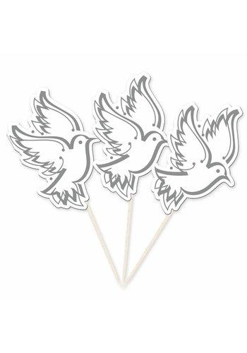 Prikkertjes Love Doves - 10 stuks