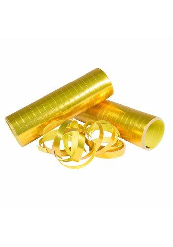 Serpentine glimmend goud - 2 stuks