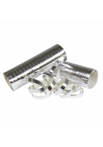 Serpentine glimmend zilver - 2 stuks
