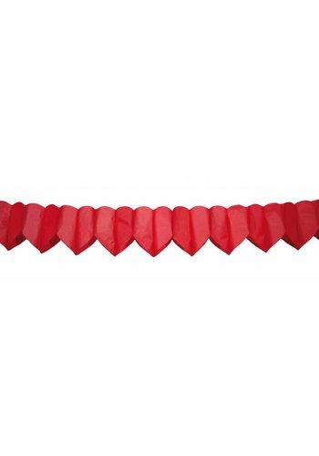 Slinger Hartjes Rood - 6 meter