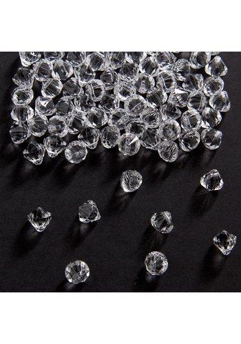 Tafel Diamantjes 9mm - 28 gram