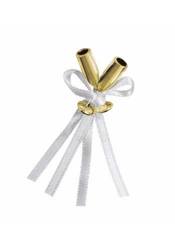 Wedding Favor - Gold flute - 12 stuks
