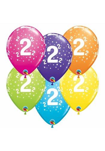 Helium Ballon 2 jaar (28cm)