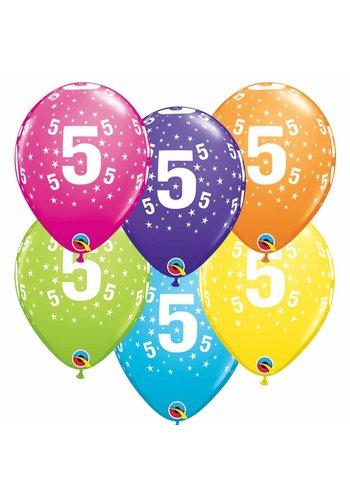Helium Ballon 5 jaar (28cm)