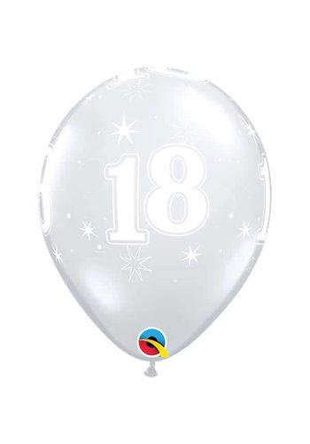 """11"""" Doorzichtig 18 jaar (28cm)"""
