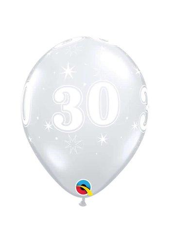 """11"""" Doorzichtig 30 jaar (28cm)"""