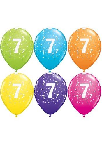 Helium Ballon 7 jaar (28cm)