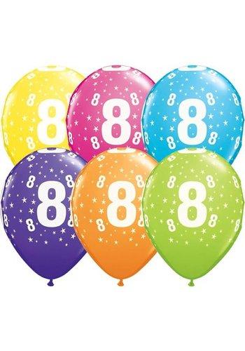 Helium Ballon 8 jaar (28cm)