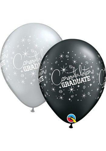 "11"" Congratulations Graduate - 2 kleuren (28cm)"