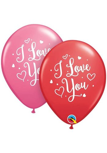 "11"" I Love You - 2 kleuren (28cm)"