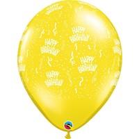 "thumb-16"" Happy Birthday - 7 kleuren (40cm)-2"