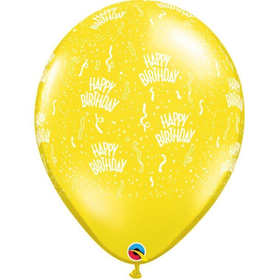 """16"""" Happy Birthday - 7 kleuren (40cm)-2"""