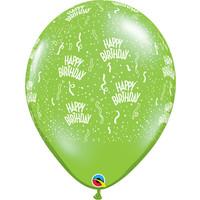 "thumb-16"" Happy Birthday - 7 kleuren (40cm)-3"