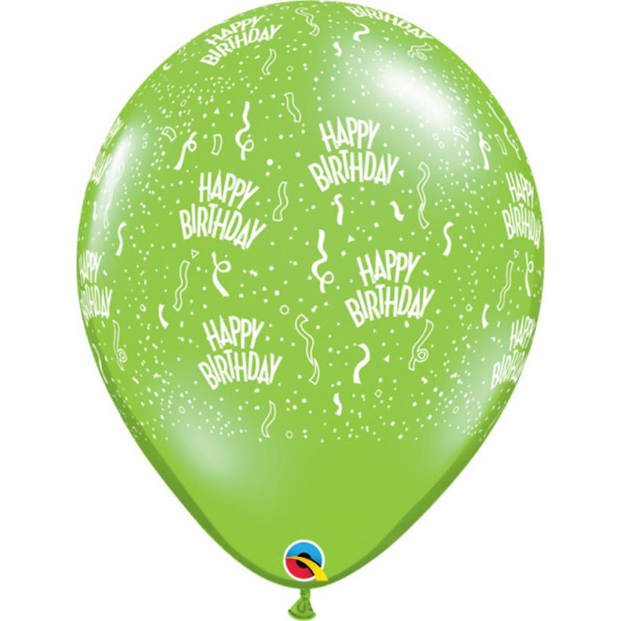 """16"""" Happy Birthday - 7 kleuren (40cm)-3"""