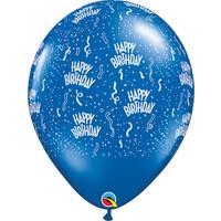 "thumb-16"" Happy Birthday - 7 kleuren (40cm)-4"