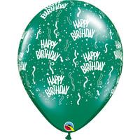 "thumb-16"" Happy Birthday - 7 kleuren (40cm)-5"