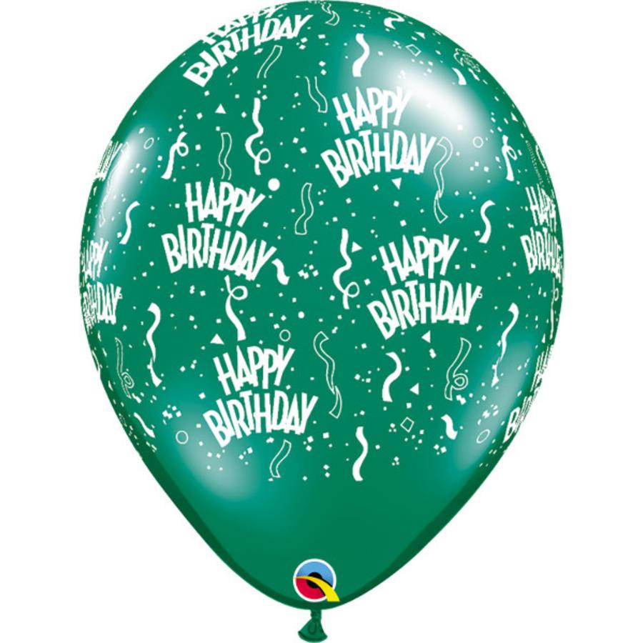 """16"""" Happy Birthday - 7 kleuren (40cm)-5"""