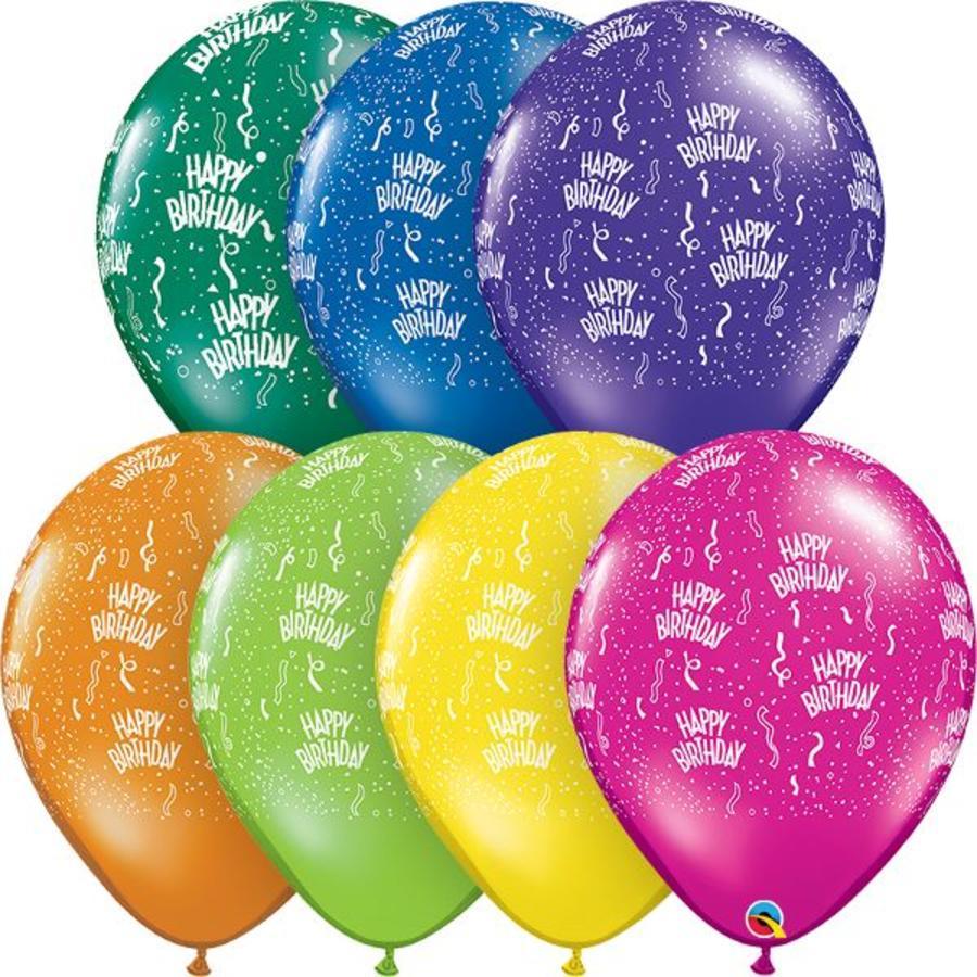 """16"""" Happy Birthday - 7 kleuren (40cm)-1"""