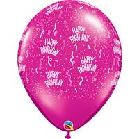"thumb-16"" Happy Birthday - 7 kleuren (40cm)-8"