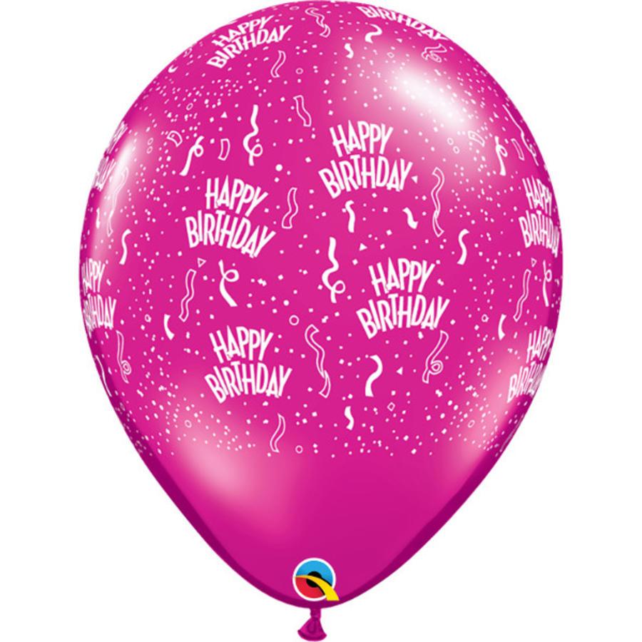 """16"""" Happy Birthday - 7 kleuren (40cm)-8"""