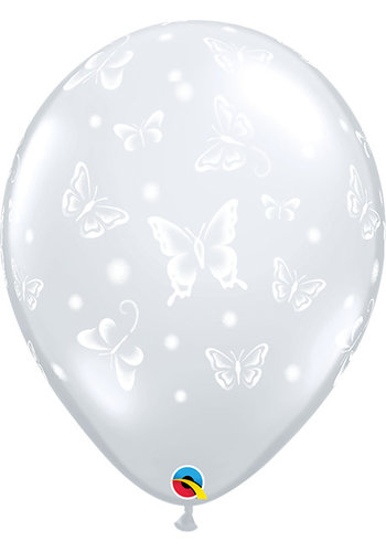 "16"" Butterflies - Transparant (40cm)"