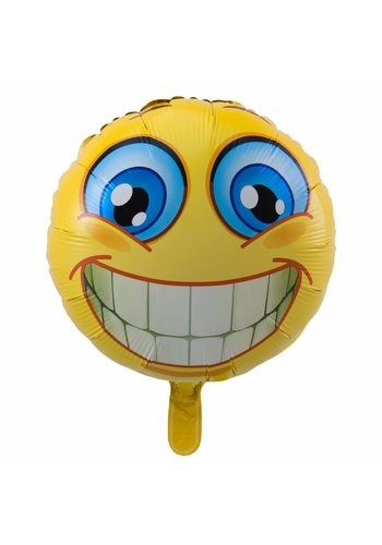 Smiley Smile Folieballon - 45cm