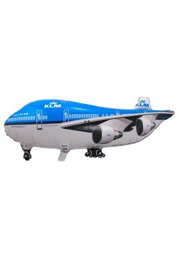 Folieballon vliegtuig - 95x45cm