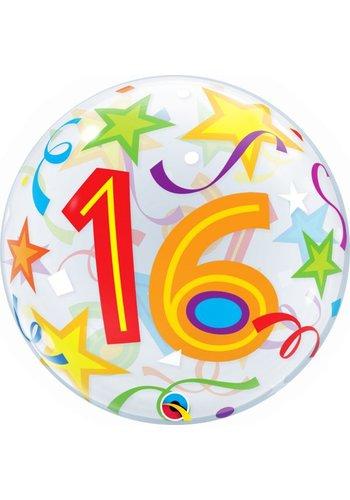 Bubble Ballon Gekleurd 16 - 55cm