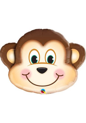 Folieballon Monkey - 64x51cm